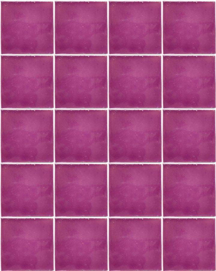 lilac hand made wall tiles