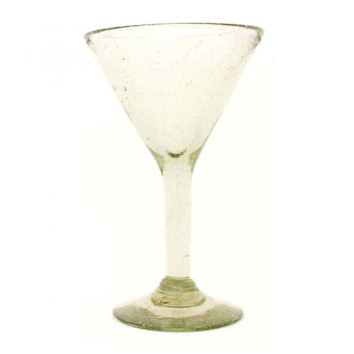 martini hand made glasses from Mexico