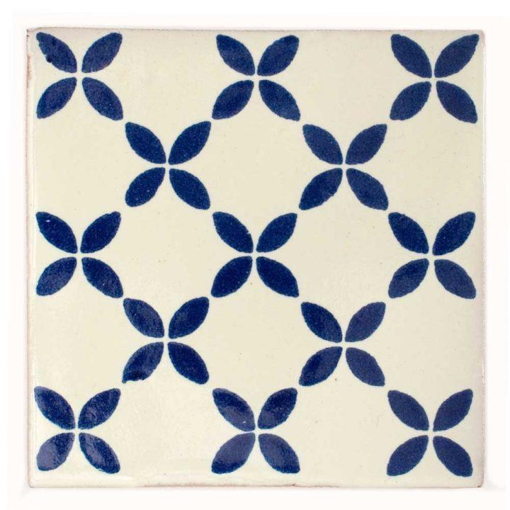 herendira blue hand made tiles.