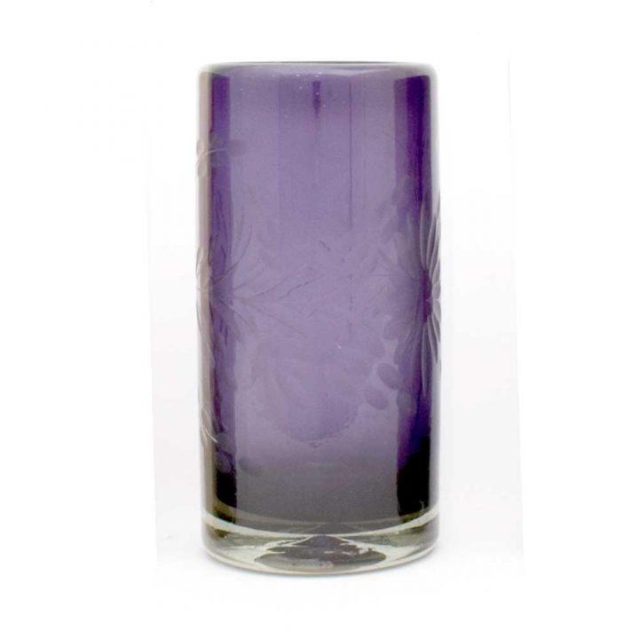 engraved grape hiiball tubler