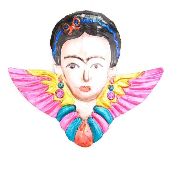 Frida Kahlo tin head