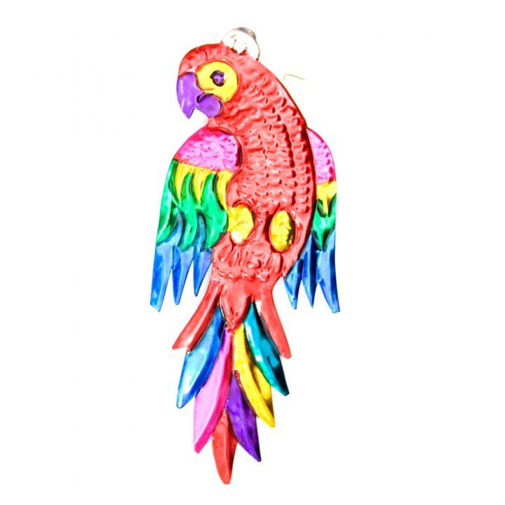 hand made mexican bird parrot