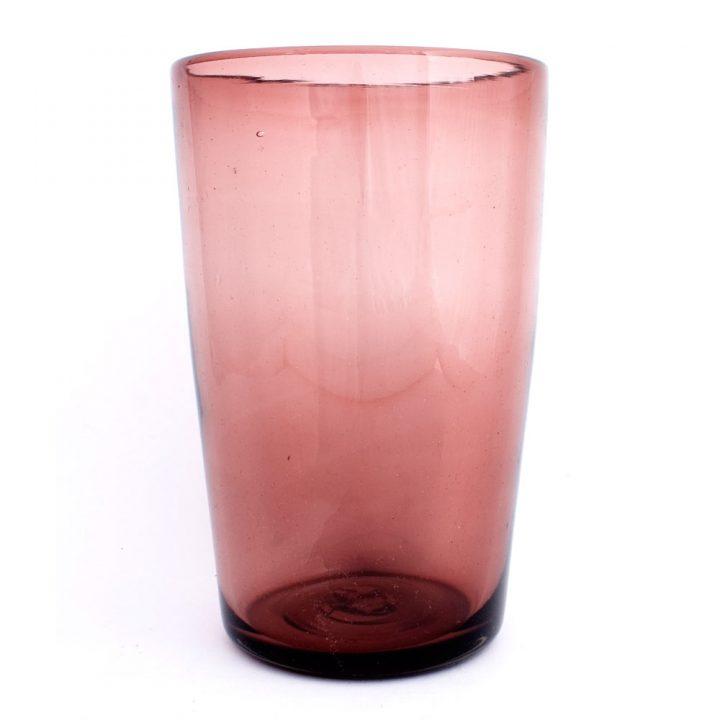 flared plum vases