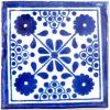 damask blue