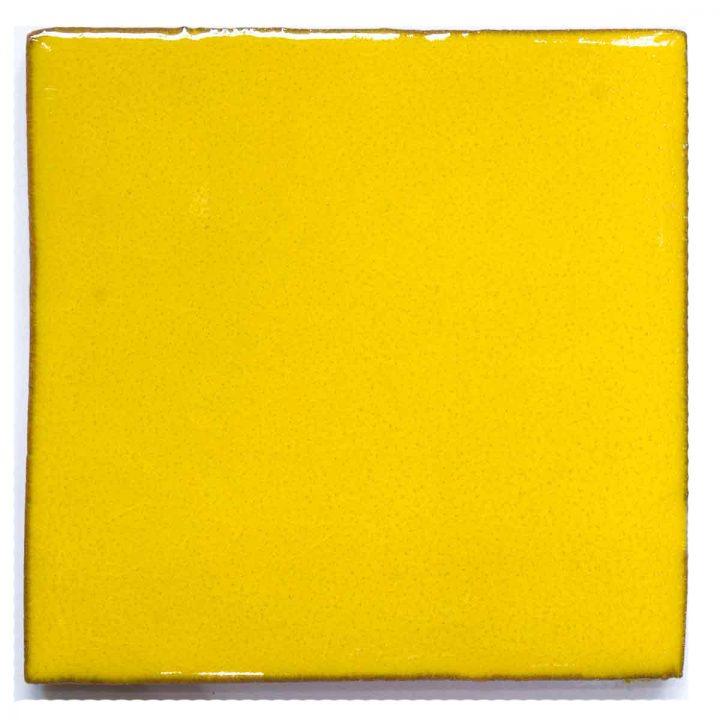 hand made yellow wall tiles