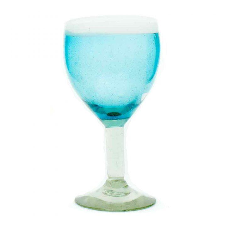 hand made wineglass