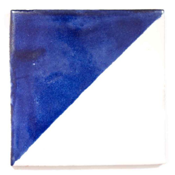 harlequin blue hand made tiles