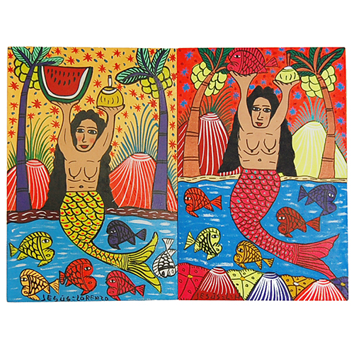 Mexican mermaid by the Lorenzo Family