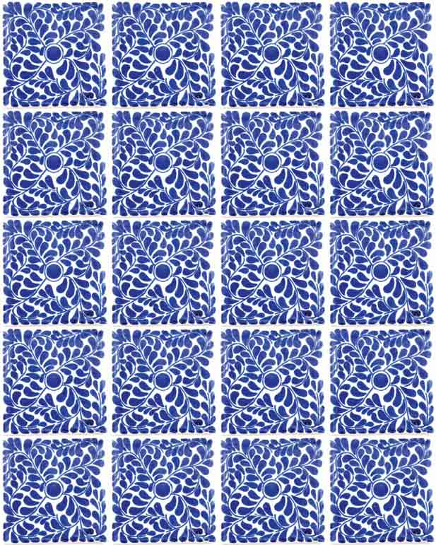 capelo blue tiles hand made bathroom tiles