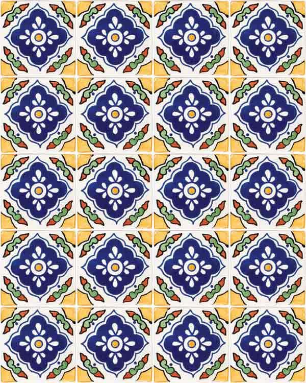 Guadalajarra hand made tiles