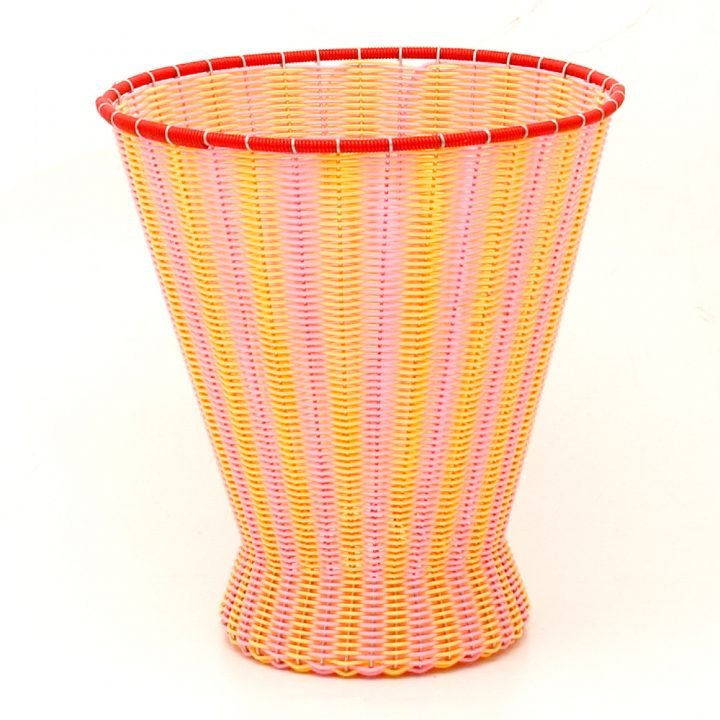 pale and yellow basket