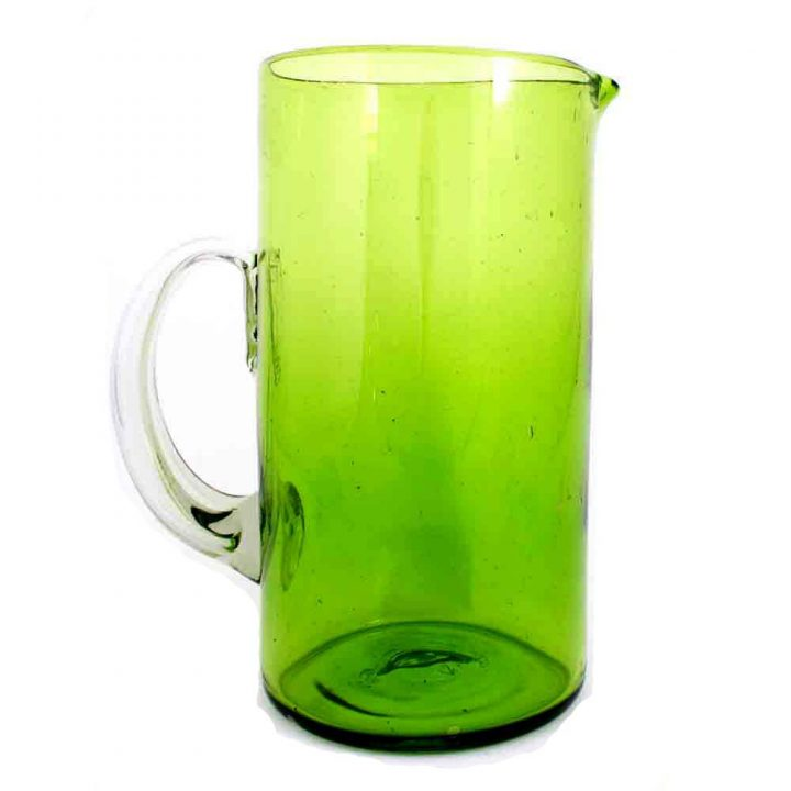 lime green straight jug