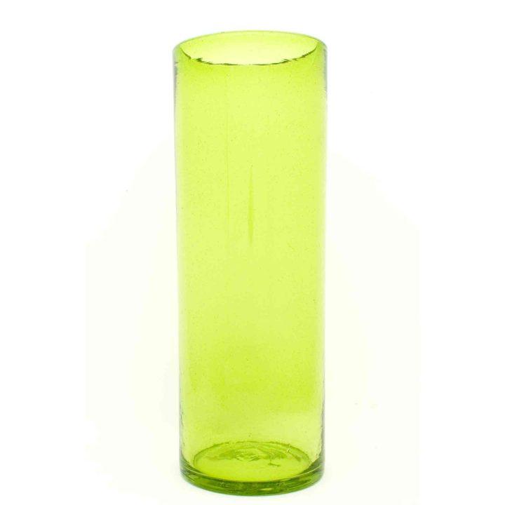 lime green straight vase 45-15cm