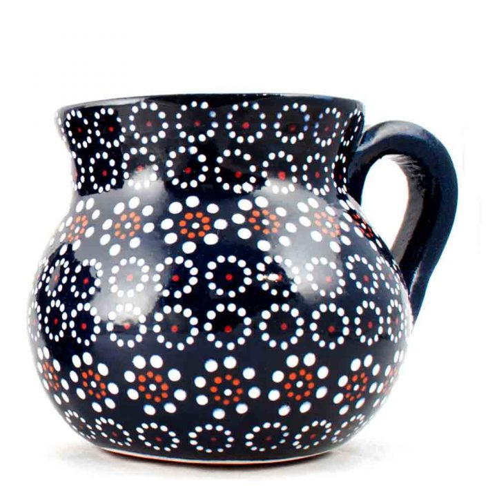 Mexican pottery cup