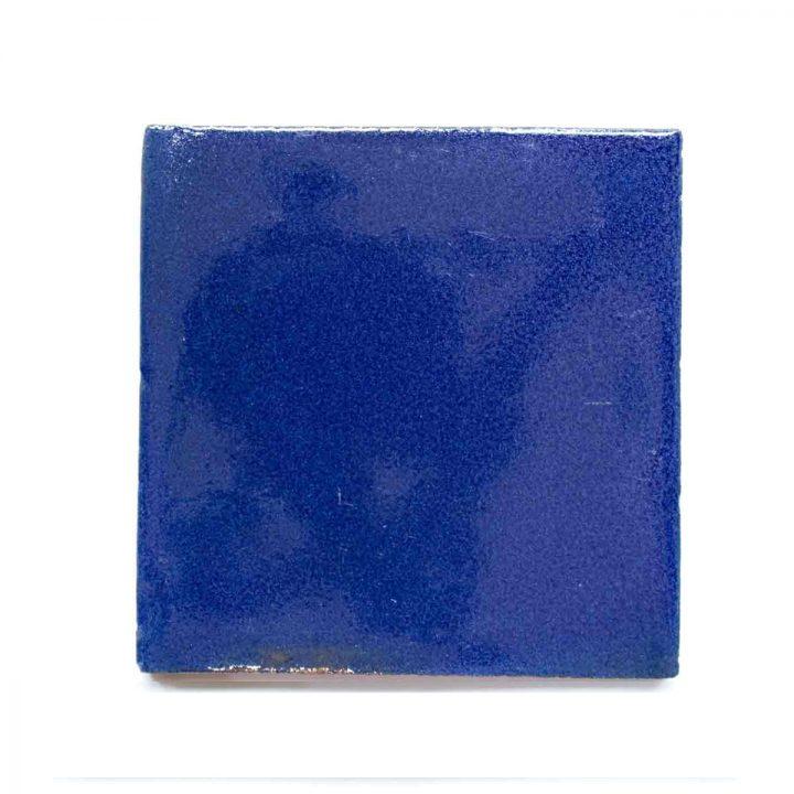 inset blue cobalt blue tiles