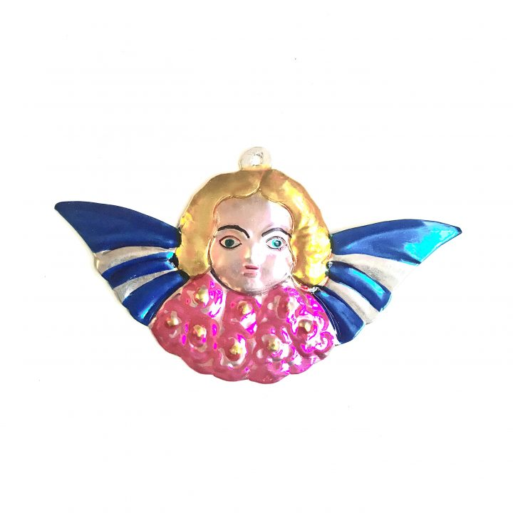 Ange facel with wings