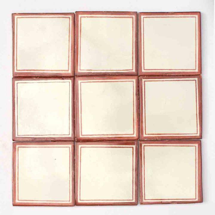 Daisy may hand made tiles