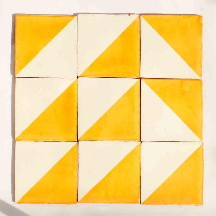 harlequin gold tiles