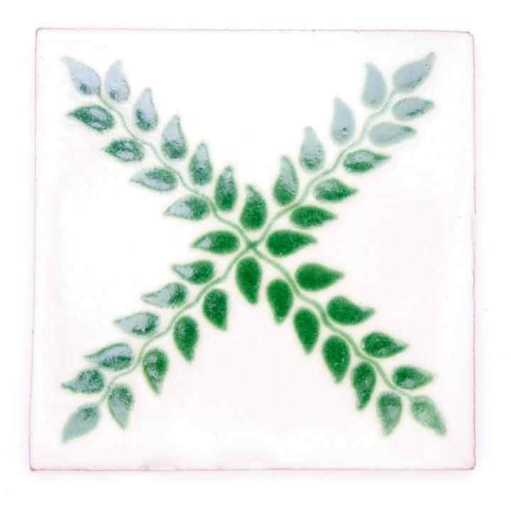 arbour green decorative tiles