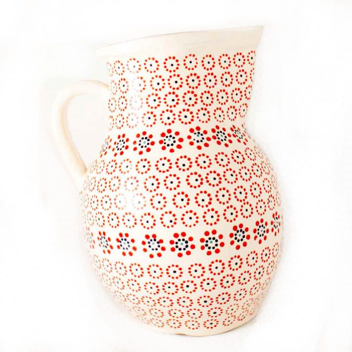 cream jug hand made in Mexico