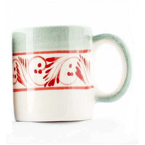 San Gabriel Mexican pottery cup