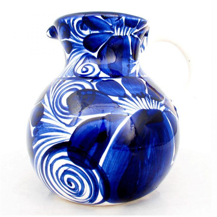 Dolores ceramic mug hand made Mexico pottery