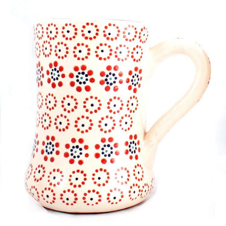 Mexican pottery mug