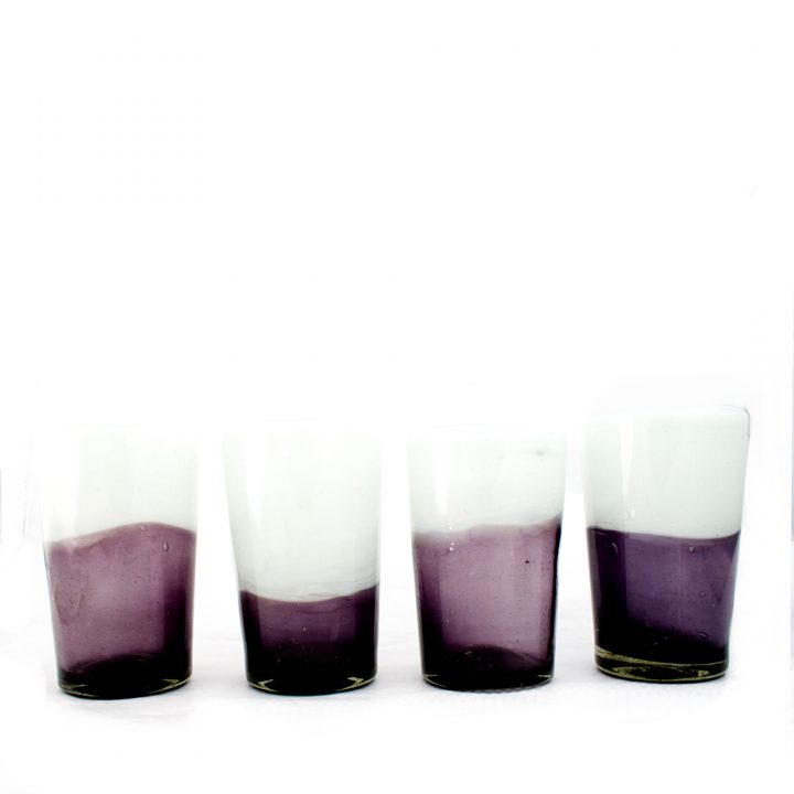 recycled glass tumbler - Milagros