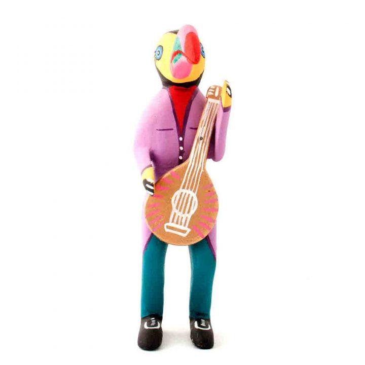 toucan with guitar