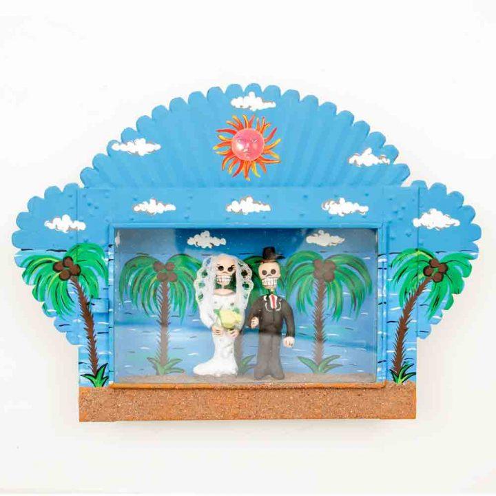 Tropical skelly wedding niche