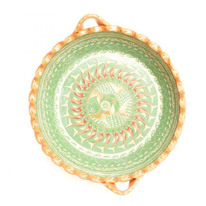 Green Raquel fish bowl