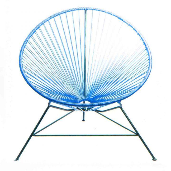 Blue condessa chair