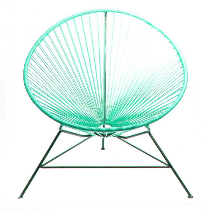 Turquoise condessa chair