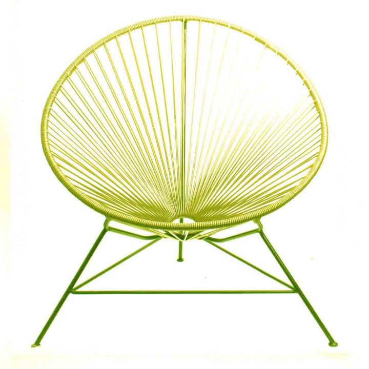 yellow condessa chair
