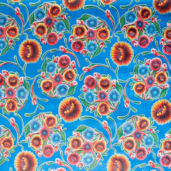 Marigold oil cloth