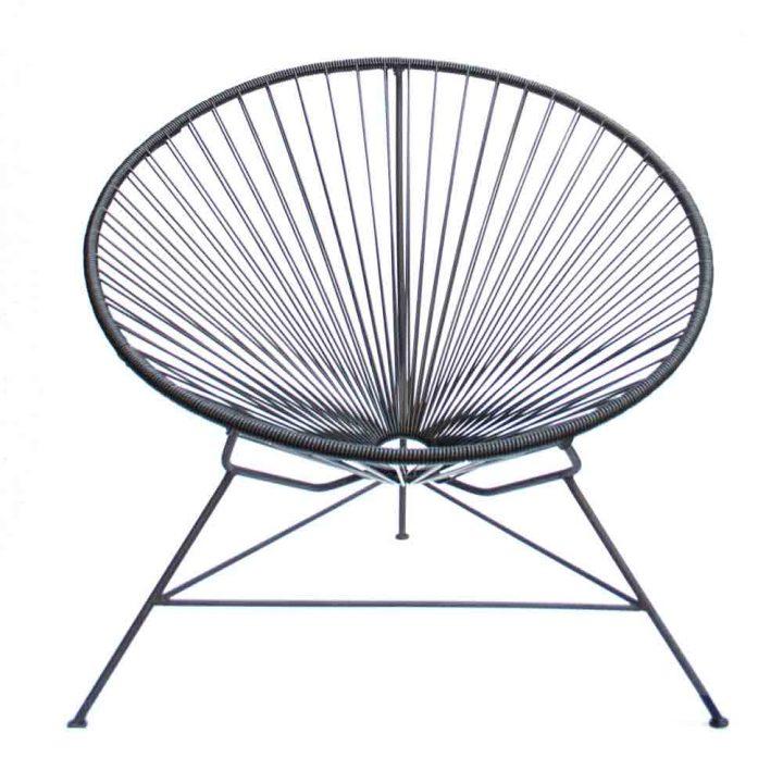 black condessa chair