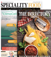 Speciality Food Magazine with Speciality Food Directory 2021