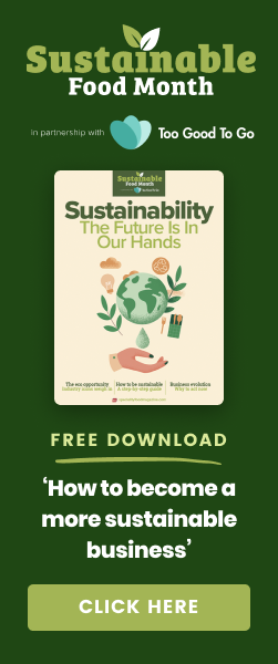 Sustainable Food Month | In partnership with Too Good To Go | 1st - 31st October 2021 | Sign up now to receive a sample box! | Click here