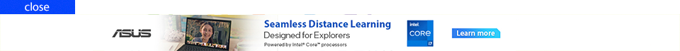ASUS | seamless distnace learning designed for explorers  | Click here
