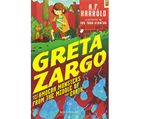 Greta Zargo and the amoeba monsters from the middle of the earth