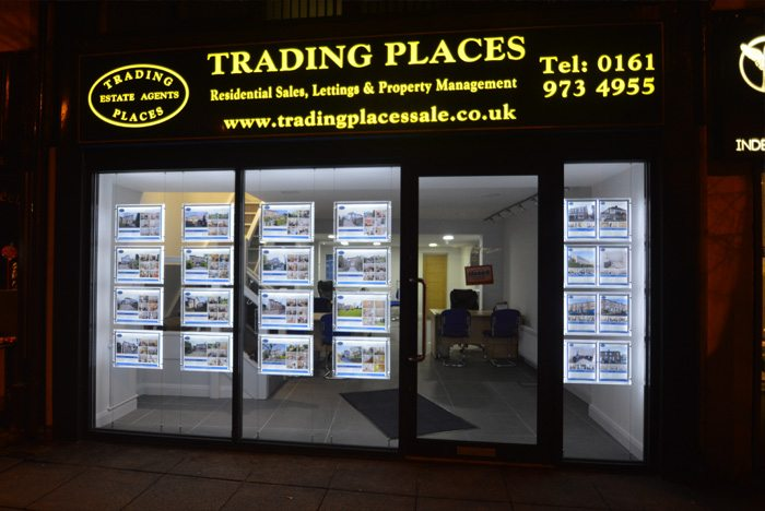 Trading Places Sale shop front