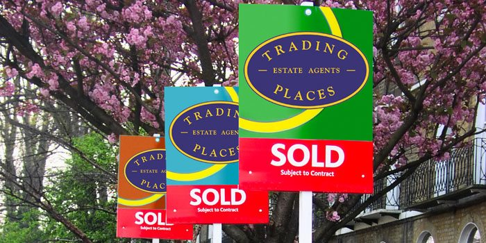 Trading Places for sale board