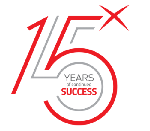 Its our Anniversary! Celebrating 15 years of success!