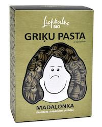 BIO griķu pasta ar spinātiem MADAĻONKA