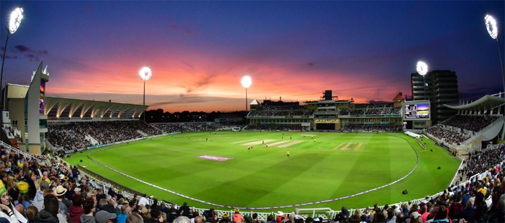Trent Bridge Cricket Ground – 'Powered by Yü Energy'