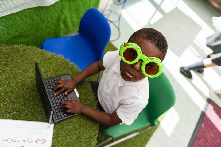 Child laptop glasses